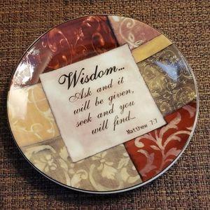 Wisdom Plate